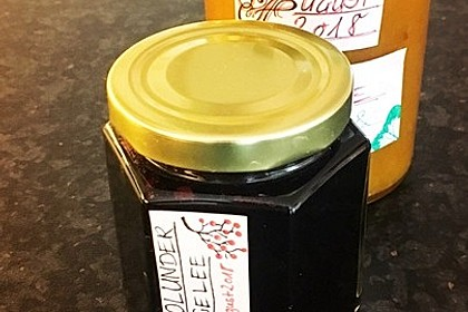 Holunder - Zwetschgen Marmelade 13