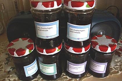 Holunder - Zwetschgen Marmelade 14