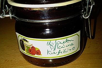 Holunder - Zwetschgen Marmelade 17