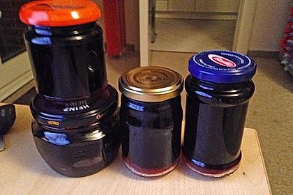 Holunder - Zwetschgen Marmelade 10