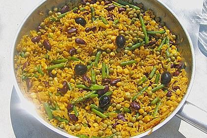 Aromatische Paella