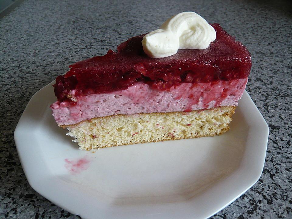 Himbeer Joghurt Torte Von Misspinacolada Chefkoch De