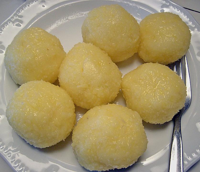 kartoffelklöße rezept aus gekochten kartoffeln