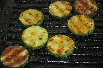 Gegrillte Chili - Zucchini 3