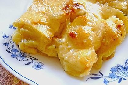 Bechamelkartoffeln 4