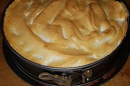 Obstkuchen mit Baiserhaube 1