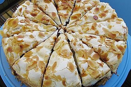 Obstkuchen mit Baiserhaube