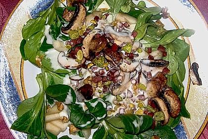 Feldsalat mit Meerrettich - Dressing 5