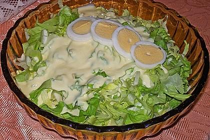 Feldsalat mit Meerrettich - Dressing 11