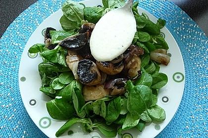 Feldsalat mit Meerrettich - Dressing 9