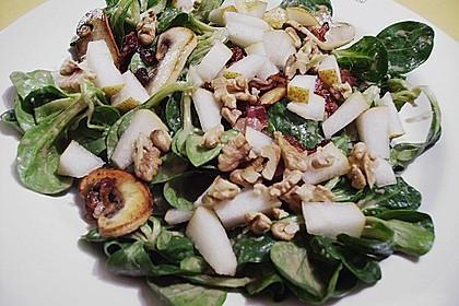 Feldsalat mit Meerrettich - Dressing 8