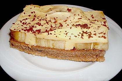 Bananenkuchen mit Zitronencreme