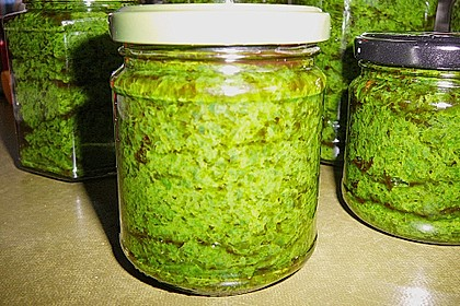 Bärlauch - Pesto 20