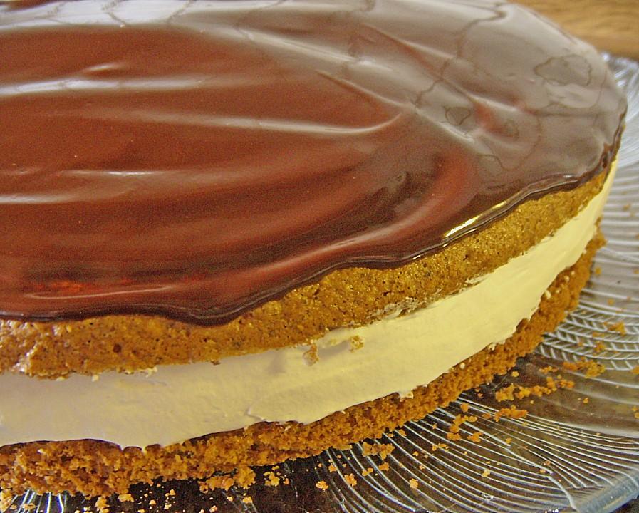 Kaffee Nuss Torte Von Lari Chefkoch De