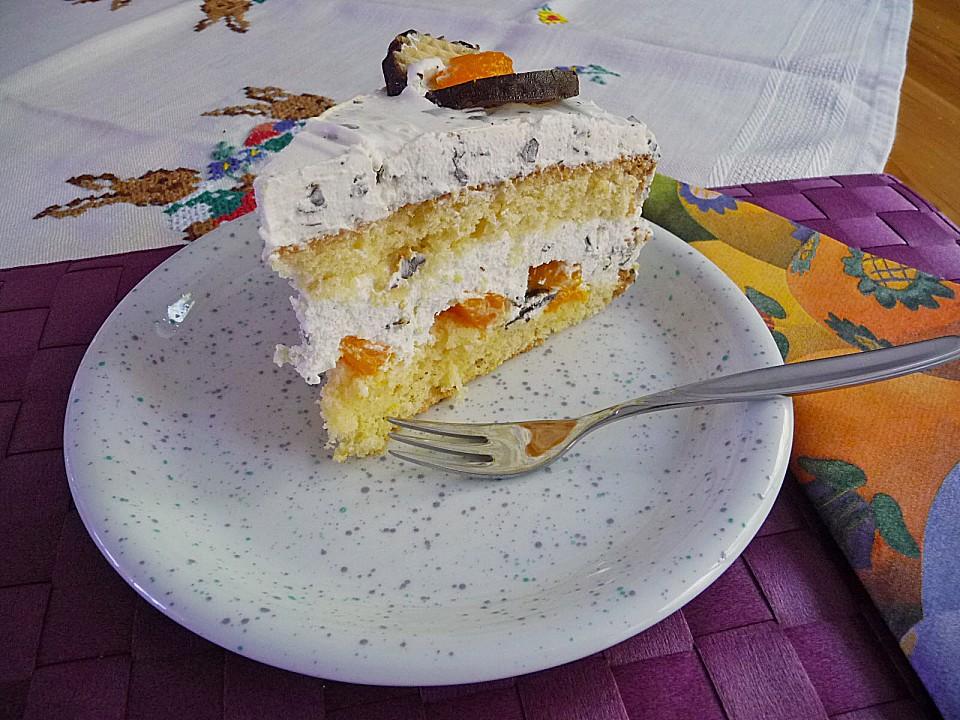 Schokokusstorte Mit Mandarinen Ein Schones Rezept Chefkoch De