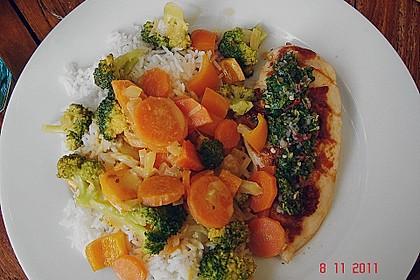 Baked Thai Red Curry Chicken with Coriander Chutney 2