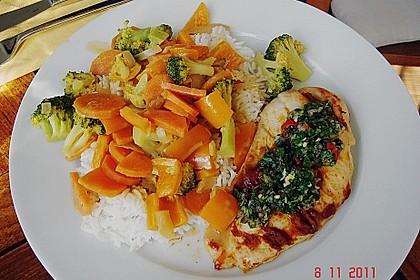 Baked Thai Red Curry Chicken with Coriander Chutney 1
