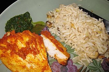 Baked Thai Red Curry Chicken with Coriander Chutney 3