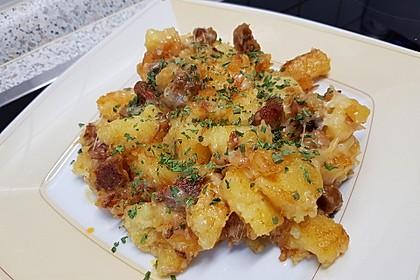 SABO - Knödelpfanne mit Wurst und Käse (Bild)