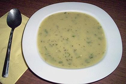 Zucchini - Cremesuppe 2