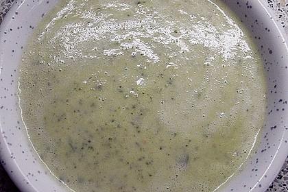 Zucchini - Cremesuppe