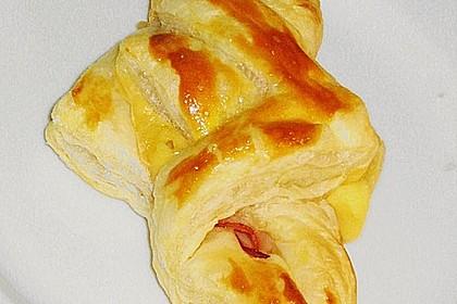 Blätterteigtaschen, pikant 21