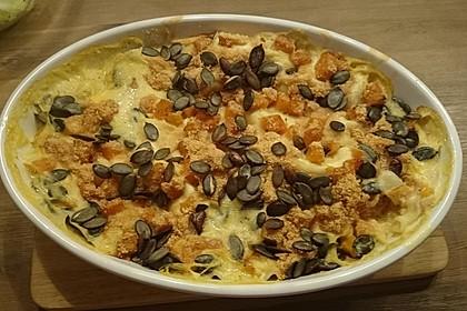 Kürbis - Lasagne 12