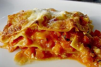 Kürbis - Lasagne 6