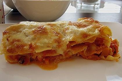 Kürbis - Lasagne 11