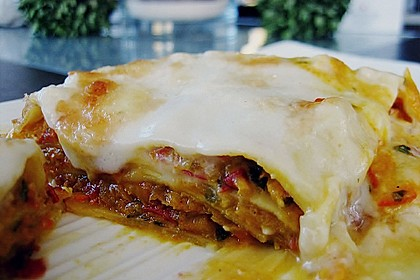 Kürbis - Lasagne 10