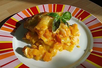 Kürbis - Lasagne 1