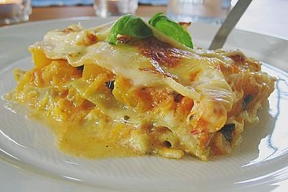 Kürbis - Lasagne 2