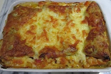 Kürbis - Lasagne 4