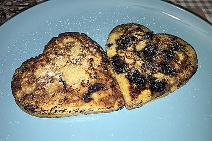 Heidelbeer-Pfannkuchen ohne Zucker 2