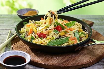 Asia Gemüse Curry mit Kokosmilch