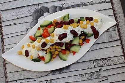 Bohnen-Mais-Salat 1