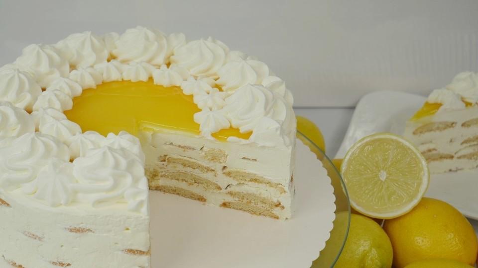 Lemon Curd Cake Von Amerikanisch Kochende Chefkoch De