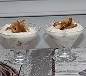Birnen-Nuss-Dessert (Bild)