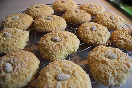 Kekse aus Maismehl mit Kokosraspel 1