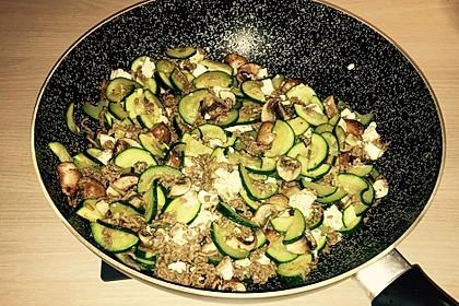 Zucchini-Hack-Pfanne mit Feta 3