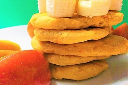 Gebackener Süßkartoffel-Teig aus der Pfanne, vegan 1