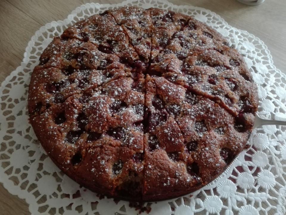 Glutenfreier Kirsch Nuss Kuchen Von Marissosh Chefkoch De