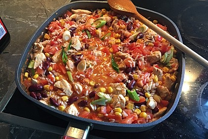 One Pot Burrito Bowl 16