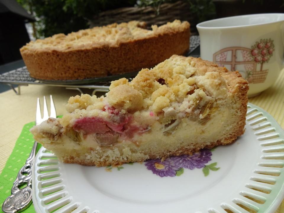 Rhabarber Quark Streuselkuchen Von Genovefa56 Chefkoch De