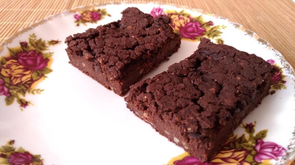 Bohnen Brownies Vegan Und Glutenfrei Von Vitality13 Chefkoch De