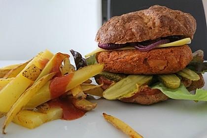 Vegane Low Carb BBQ-Burger