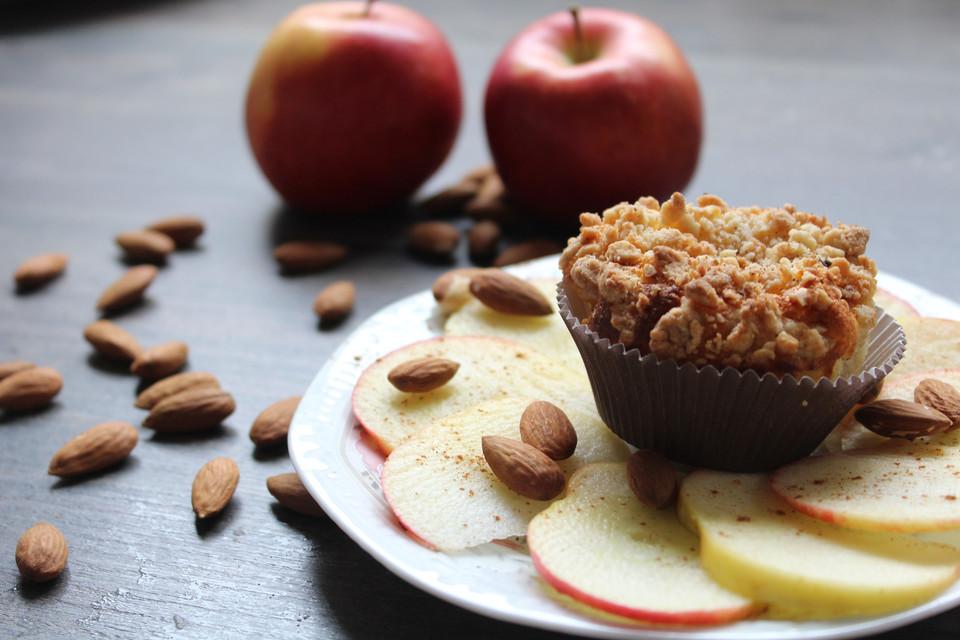 Apfel Kasekuchen Muffins Von Saskiier Chefkoch De