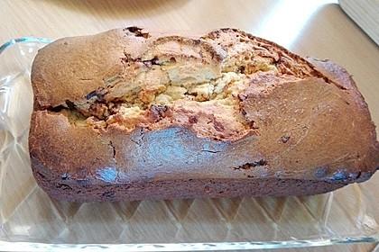 Bananen-Schoko-Kuchen mit Mandelmus 1