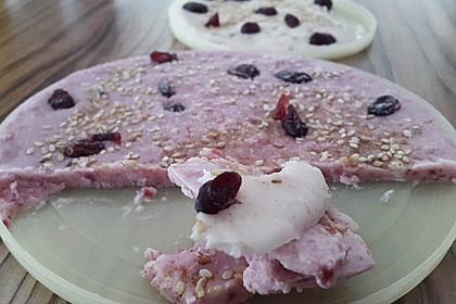 Frozen Yoghurt Riegel (Bild)