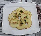 Apfel-Pinien-Carpaccio (Bild)